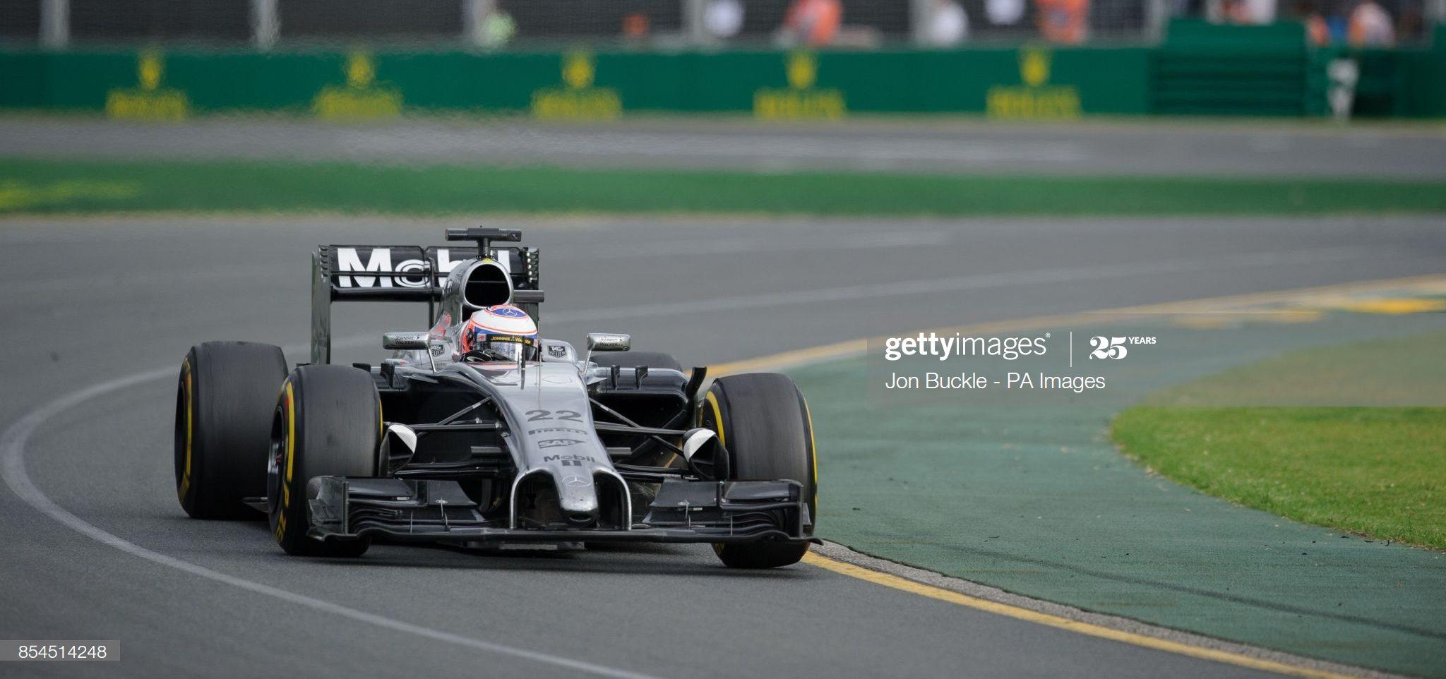 McLaren Mercedes 2014