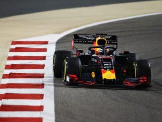 Max en el Gran Premio de Bahréin