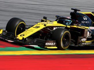Daniel Ricciardo en Austria