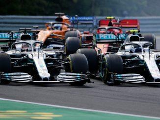 Lucha entre los Mercedes