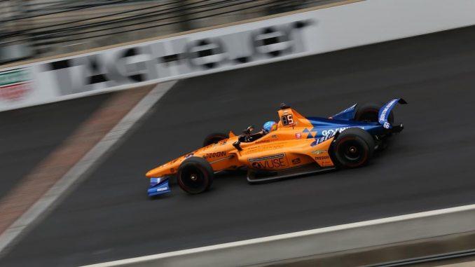 Alonso en la Indy 500