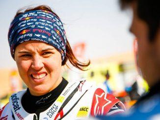 Laia Sanz en la etapa 10
