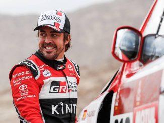 Alonso en el Dakar