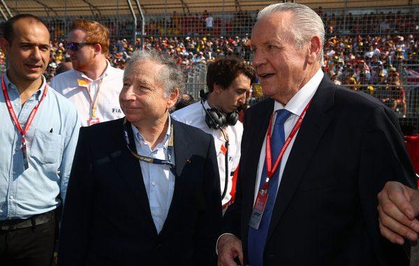 Jean Todt durante el GP de Australia