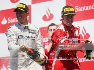 Alonso y Schumacher GP España 2012