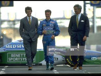Flavio Briatore y Schumacher