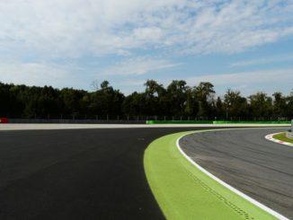 Vista de la curva Parabólica en Monza (Foto: @Pasiontuerca)